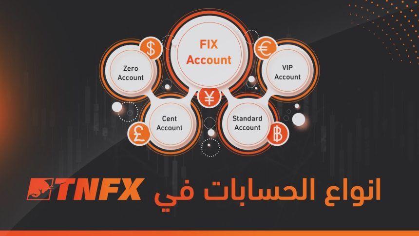 Types of accounts available with TNFX