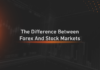 The difference between the stock market and the forex market