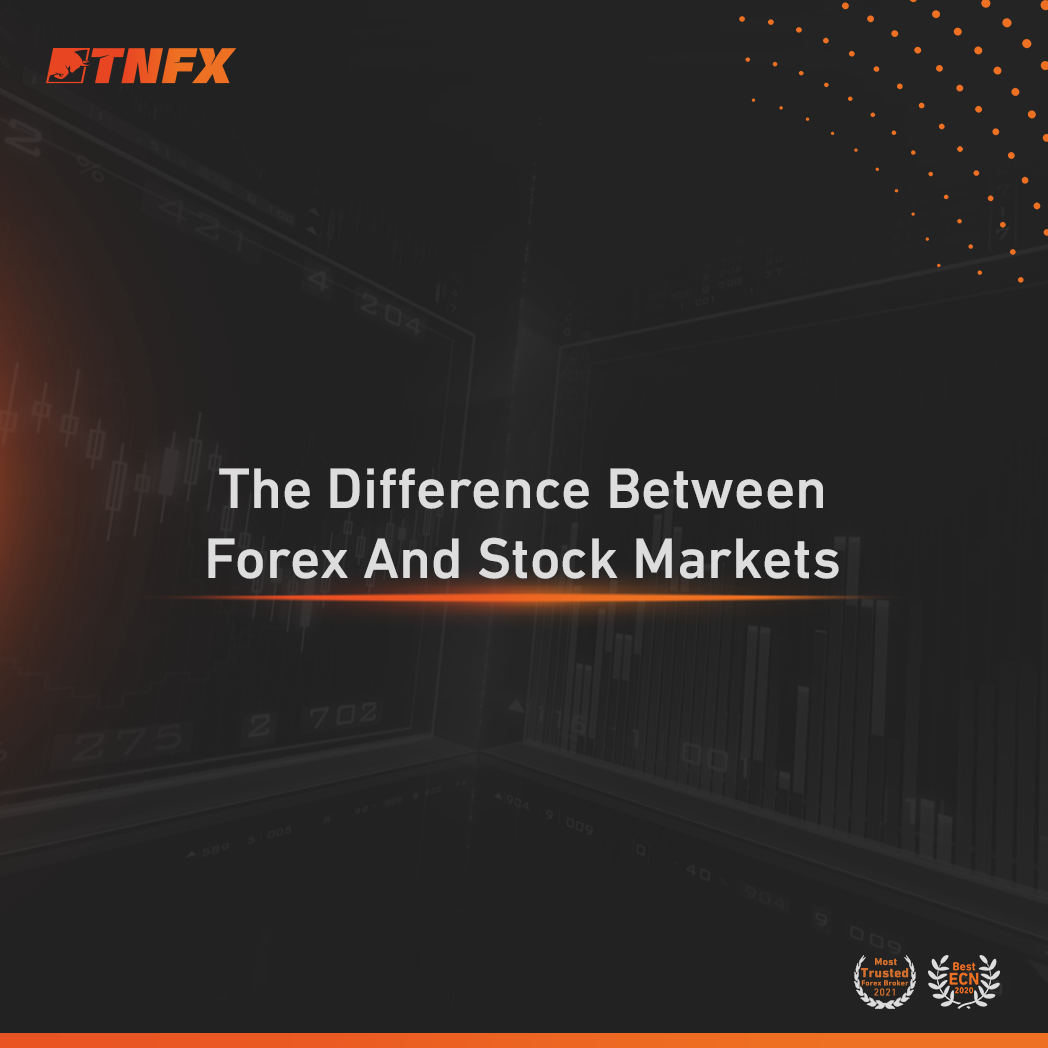 the stock market and the forex market Stocks